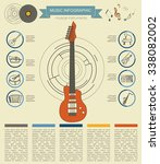 musical instruments graphic... | Shutterstock .eps vector #338082002