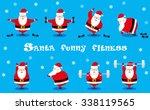 vector set design elements... | Shutterstock .eps vector #338119565