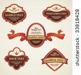 set of design elements | Shutterstock .eps vector #33818428