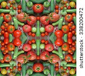 Cucumbers And Tomatoes  Effect...