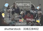 marketing strategy business... | Shutterstock . vector #338228402