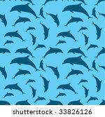 vector dolphins   Shutterstock .eps vector #33826126