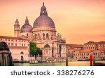 santa maria della salute... | Shutterstock . vector #338276276