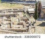medieval limassol castle ruins... | Shutterstock . vector #338300072
