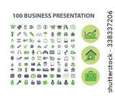 presentation  chart  diagram ... | Shutterstock .eps vector #338337206