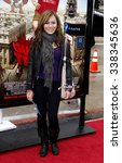"""Small photo of Amber Lily at the Los Angeles Premiere of """"Gulliver's Travels"""" held at the Grauman's Chinese Theater in Hollywood, California, United States on December 18, 2010."""