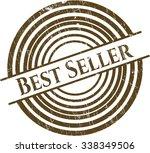 best seller rubber grunge... | Shutterstock .eps vector #338349506