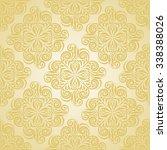 vector seamless christmas... | Shutterstock .eps vector #338388026