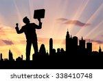 business success concept.... | Shutterstock . vector #338410748