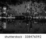 photo grunge of new york... | Shutterstock . vector #338476592