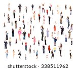 workforce concept together we... | Shutterstock . vector #338511962