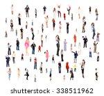 workforce concept together we... | Shutterstock . vector #338511962
