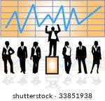 business people | Shutterstock .eps vector #33851938