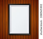vector modern frame with shadow ... | Shutterstock .eps vector #338565302