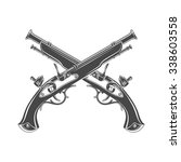 firelock musket vector. armoury ...   Shutterstock .eps vector #338603558
