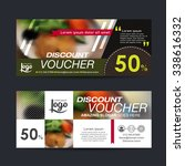 discount voucher template with...