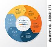 vector infographic. template... | Shutterstock .eps vector #338684576