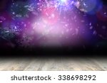shimmering light design over... | Shutterstock . vector #338698292