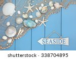 Abstract Scene With Seaside...