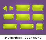 set of buttons  bright... | Shutterstock .eps vector #338730842