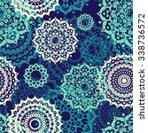 seamless multicolor pattern... | Shutterstock .eps vector #338736572