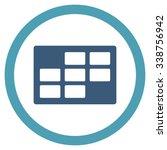 binder grid vector icon. style... | Shutterstock .eps vector #338756942