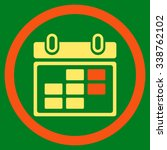 month appointment vector icon.... | Shutterstock .eps vector #338762102