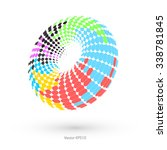 abstract torus | Shutterstock .eps vector #338781845