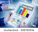 analysis analyzing information... | Shutterstock . vector #338783936