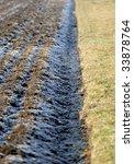 frozen field   Shutterstock . vector #33878764