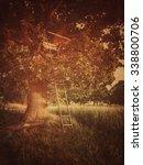 treehouse in the farm | Shutterstock . vector #338800706