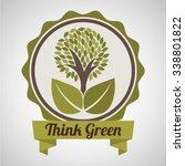 ecological mind design  vector... | Shutterstock .eps vector #338801822