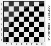 Chessboard With Letters And...