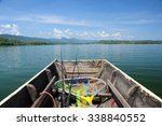 Wooden Fishing Boat With...