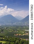 view to merano south tirol with ... | Shutterstock . vector #338857082