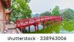 Huc Bridge Spanning Ngoc Son...