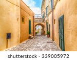 Small photo of narrow alleys in the historic center of Otranto, coastal town of Greek-Messapian origins in Italy