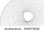 abstract geometric structure | Shutterstock .eps vector #339075056