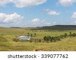 View Of The Gran Sabana Plains...