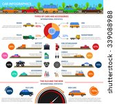 types of cars and accessories... | Shutterstock .eps vector #339088988