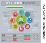 mental health regaining and... | Shutterstock .eps vector #339092192