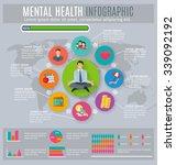 mental health regaining and... | Shutterstock .eps vector #339092192