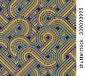 seamless abstract pattern | Shutterstock .eps vector #339093995