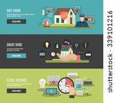 smart home internet of things...   Shutterstock .eps vector #339101216