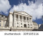 the bank of england in london uk | Shutterstock . vector #339105116