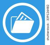 document folder vector icon....   Shutterstock .eps vector #339126482