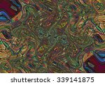 colorful psychedelic background ... | Shutterstock . vector #339141875