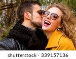 close up portrait of happy...   Shutterstock . vector #339157136