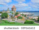 Quebec City Cityscape Panorama...
