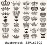 mega collection or set of... | Shutterstock .eps vector #339163502